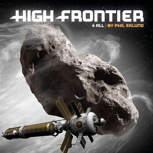 High Frontier 4 All par Sierra Madre Games