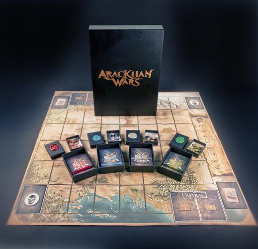AracKhan Wars Card  Tokens and Playmate