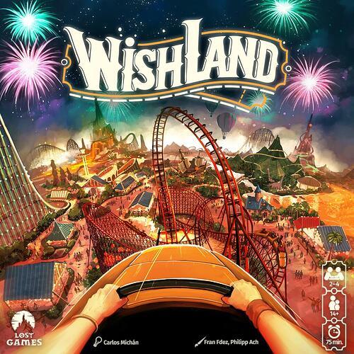 Wishland de Carlos Michàn - par Lost Games - Boîte