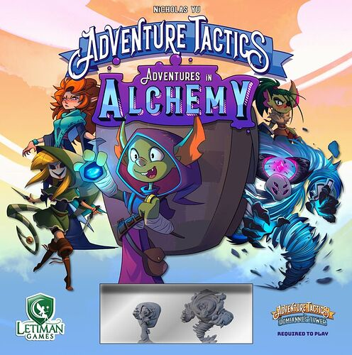 Adventure Tactics - par Letiman Games - Adventures in Alchemy