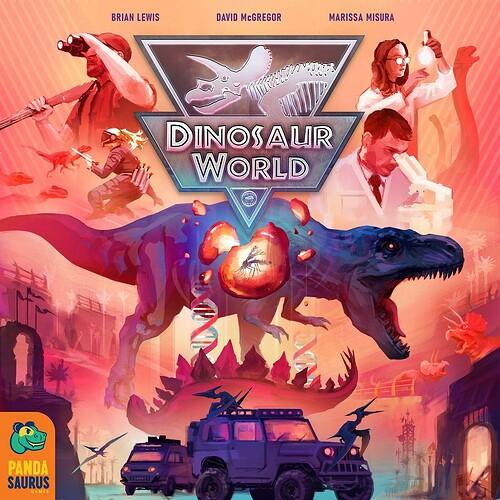 Dinosaur Island par Pandasaurus