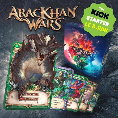 AracKhan Wars date de lancement KS