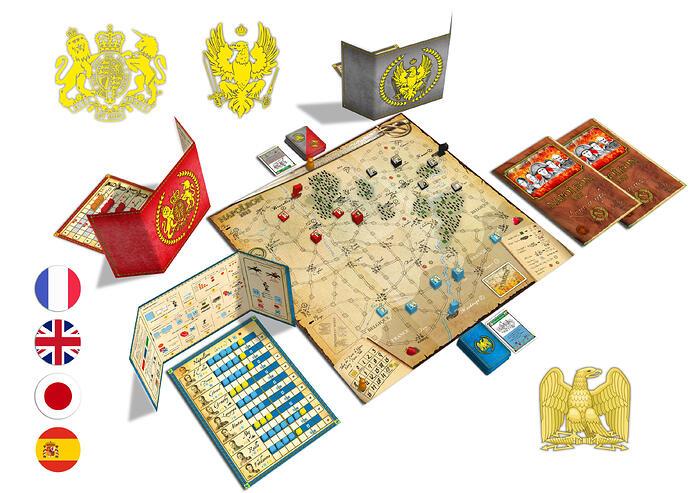 Mise en place 3D Napoléon 1815