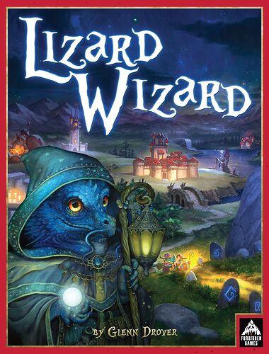 Lizard Wizard - par Forbidden Games