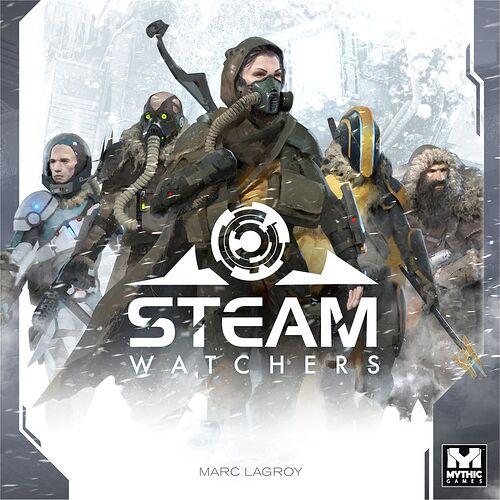 Steam Watchers - de Marc Lagroy - par Mythic Games