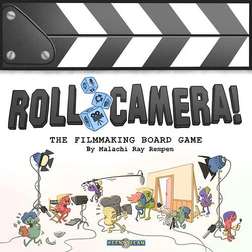 Roll Camera! - par Keen Bean Studio