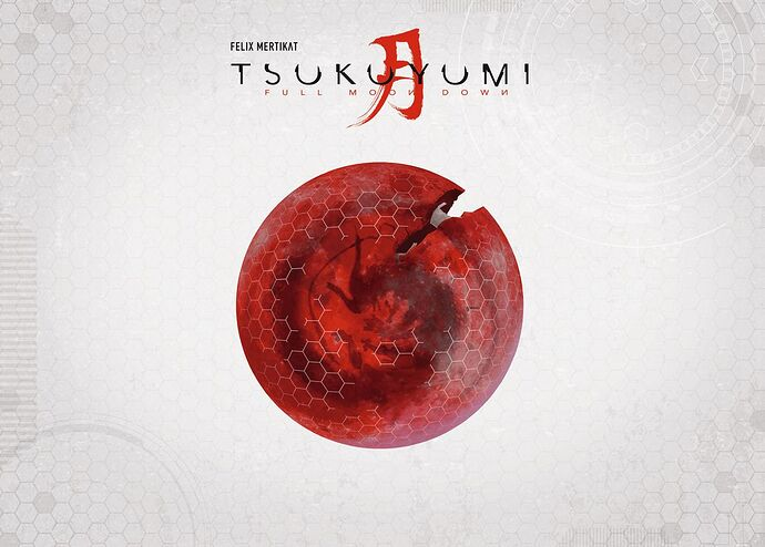 Tsukuyumi Full Moon Down - 2nd Ed. par Grey Fox