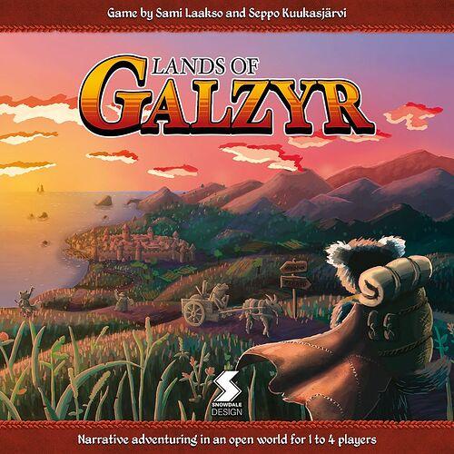 Lands of Galzyr - par Snowdale Design