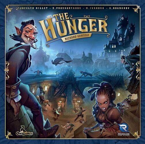 The Hunger - de Richard Garfield - par Origames et Renegade Game Studios