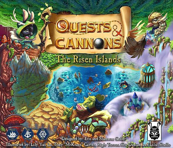 Quests & Cannons The Risen Islands - par Short Hop Games