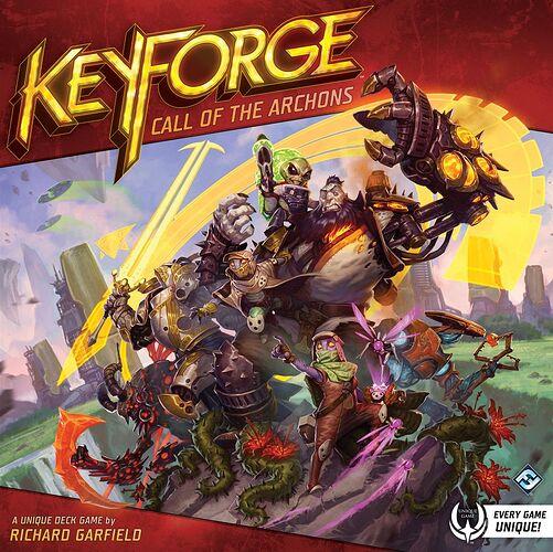 Keyforge - par Fantasy Flight Games