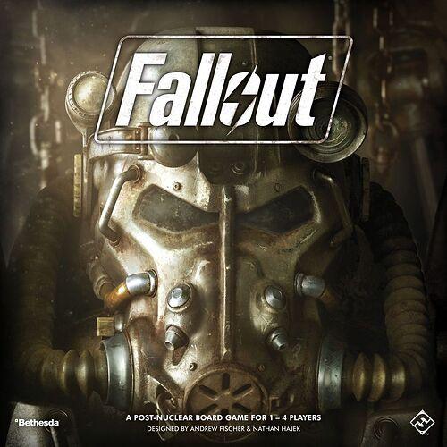 Fallout par Fantasy Flight Games