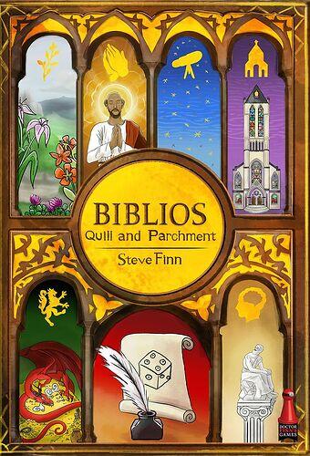 Biblios Quill & Parchment - par Dr Finn's Games