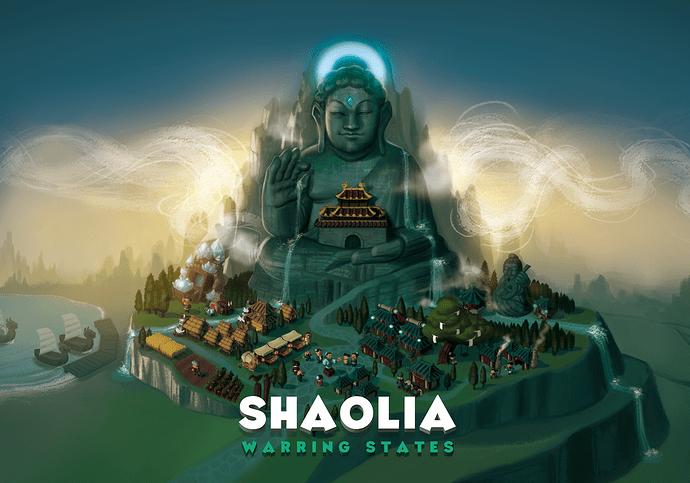 Shaolia-Warring States par Bad Comet Games