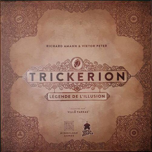 Trickerion Légende de L'Illusion - par Mindclash Games  VF par Super Meeple
