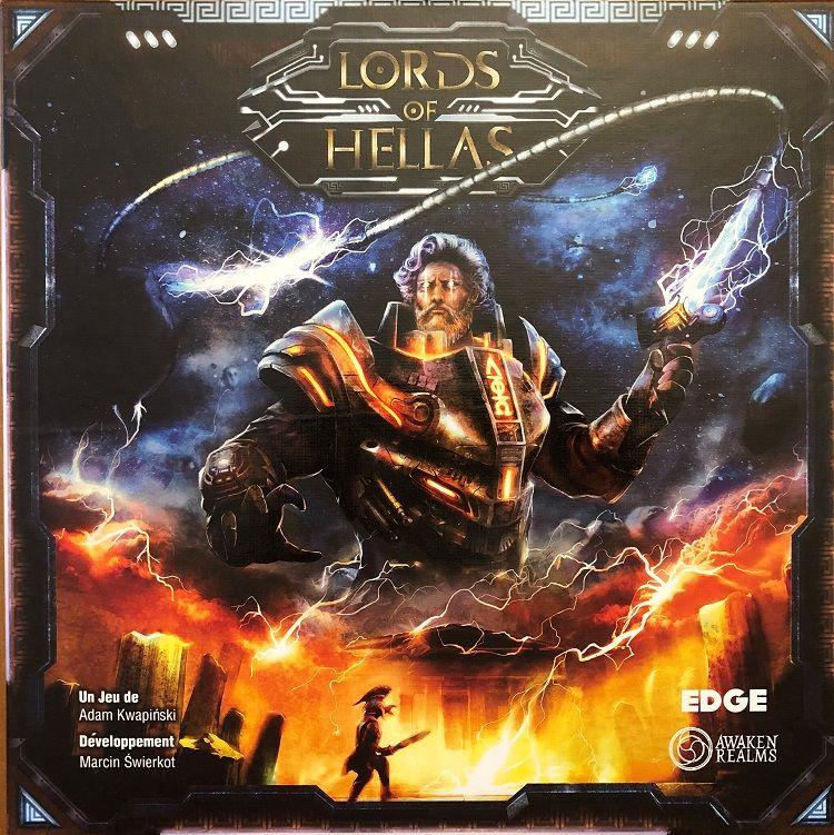 Lords of Hellas - par Awaken Realms - Boite VF