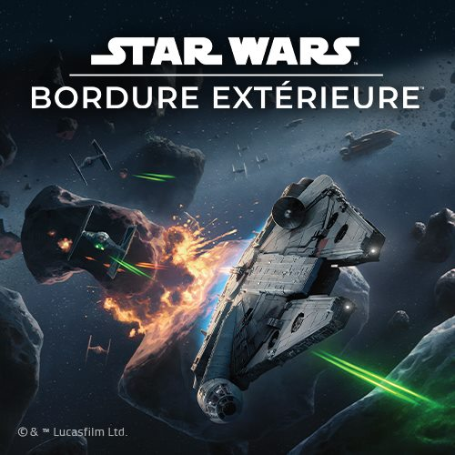 star wars bordure exterieure - boite - flat