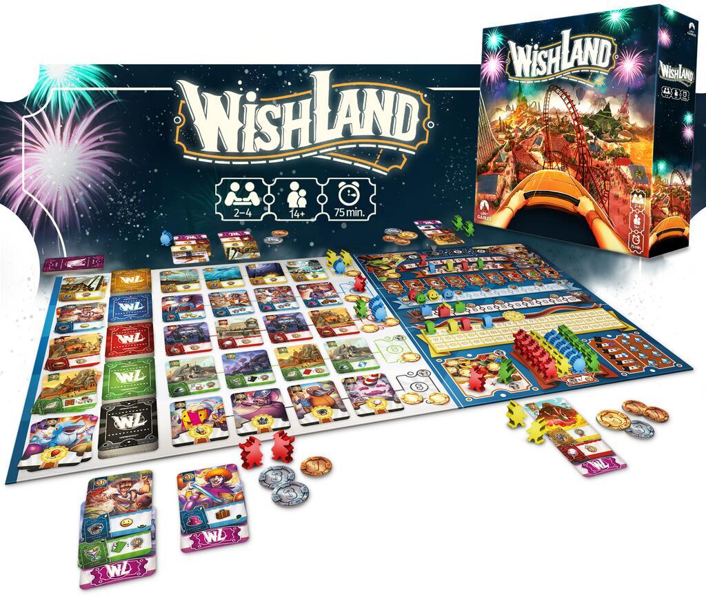 Wishland de Carlos Michàn - par Lost Games