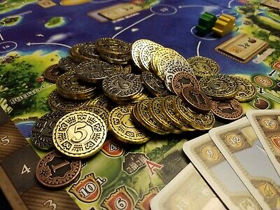 METAL-COINS-for-Maracaibo-Board-Game-Brand-New