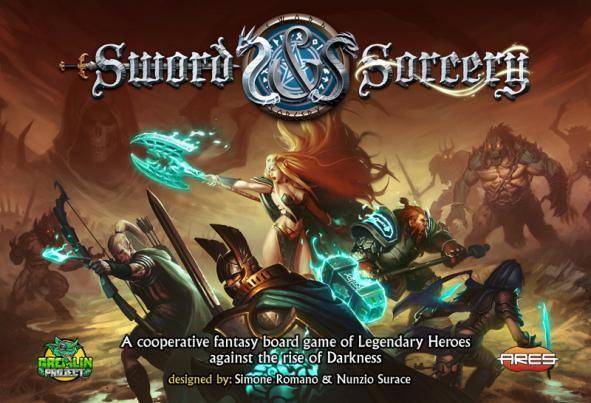 Sword & Sorcery - de Simone Romano et Nunzio Surace - par Ares Games  VF par Intrafin