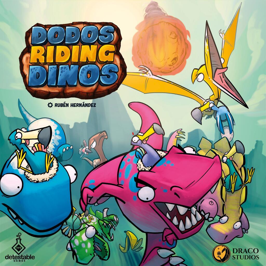 Dodos Riding Dinos - par Detestable Games