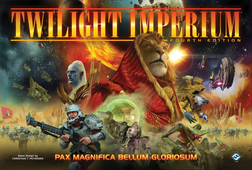 Twilight Imperium 4ème Edition par FFG