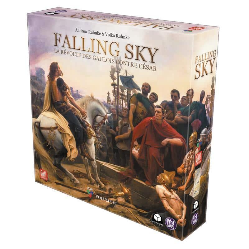 Jeu Falling Sky - version française par Asyncron