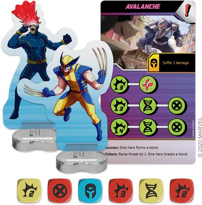 X-Men Mutant Insurrection - Fantasy Flight Games