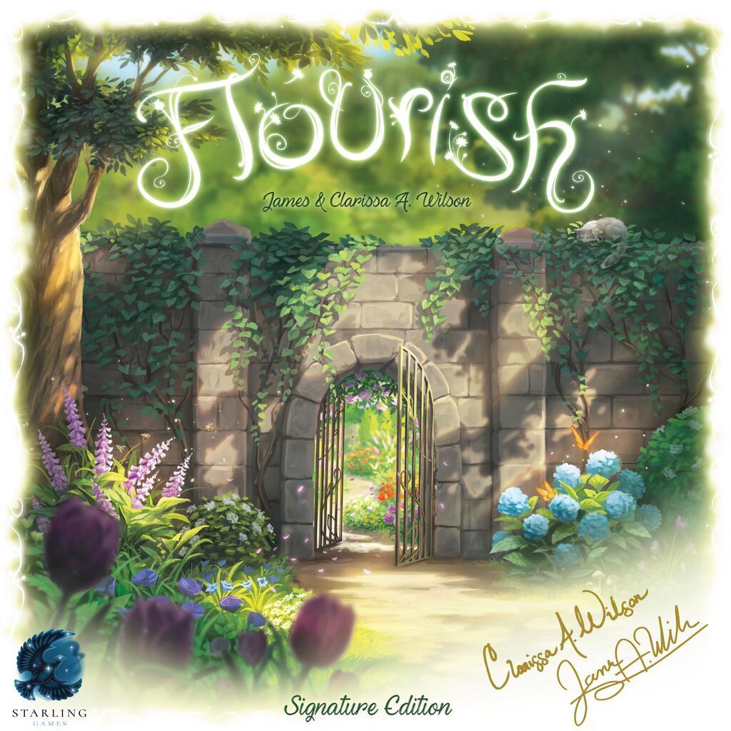 Flourish - par Starling Gammes