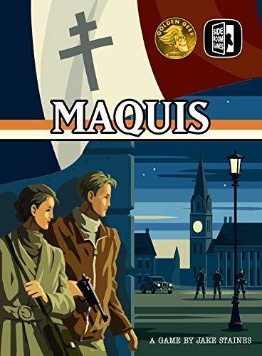Maquis 2nd Edition - par Side Room Games  Vf par Boom Boom games