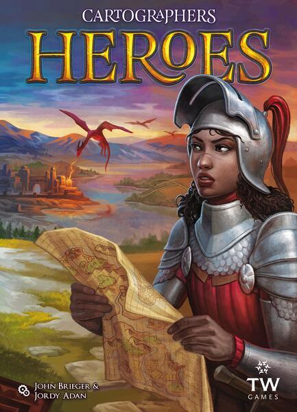 Cartographers Heroes - par Thunderworks Games