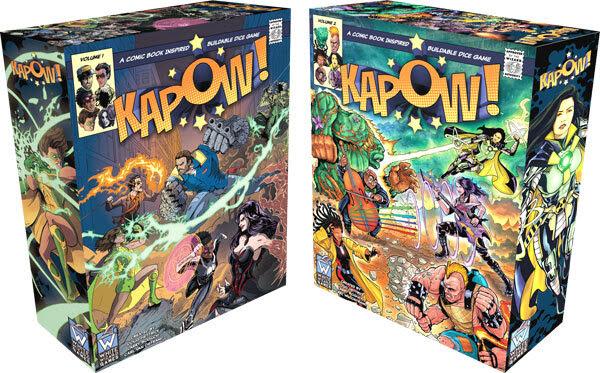 Kapow ! Par White Wizard Games - fin le 4 décembre - Jeux en financeme