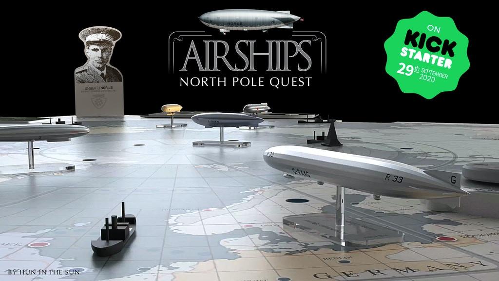 Airships. North Pole Quest - par Max Pinucci - fin le 27 octobre - Jeu