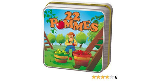 Asmodée - JP28 - Jeu de stratégie - 22 Pommes Amazon.fr Jeux et Jouets