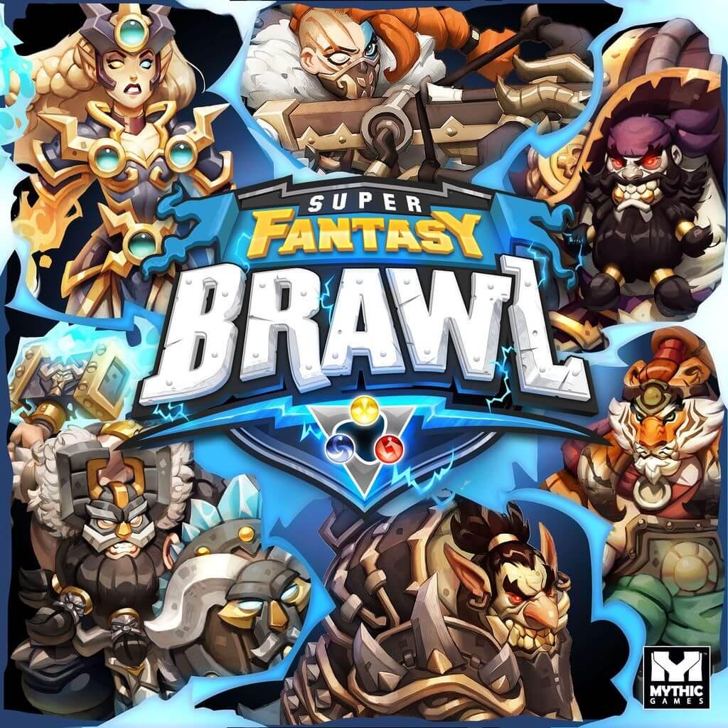 Super Fantasy Brawl par Mythic Games - boite