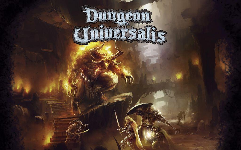 Dungeon Universalis - par Ludic Dragon Games