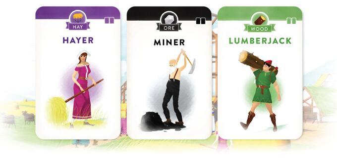 Villagers cartes