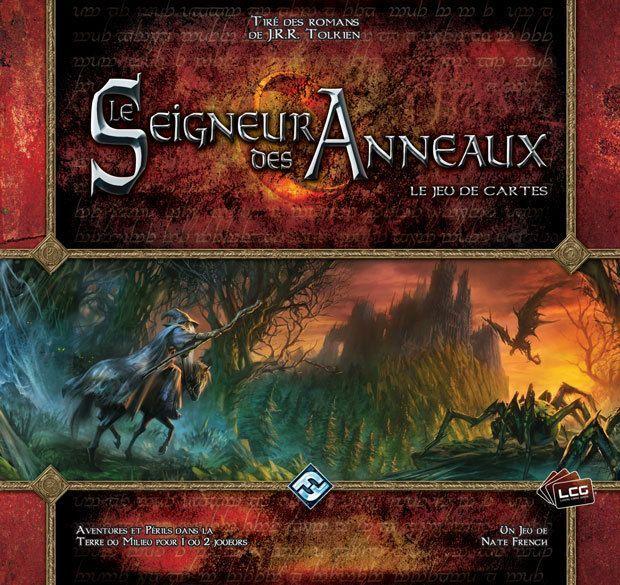 Seigneur des Anneaux JCE - Fantasy Flight Games  VF par Edge